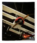 Focker Tri-plane Fleece Blanket