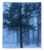 Fog Fleece Blanket