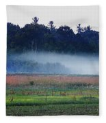 Fog Rolls In Fleece Blanket