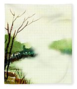 Fog1 Fleece Blanket
