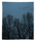 Foggy Day Fleece Blanket