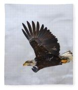 Foggy Flight Fleece Blanket