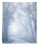 Foggy Holloway Fleece Blanket