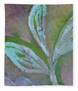 Foliage 1 Fleece Blanket