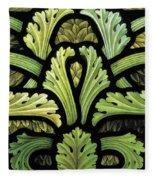 Foliage Pattern Fleece Blanket