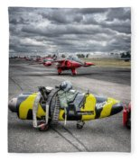 Folland Gnat  Fleece Blanket