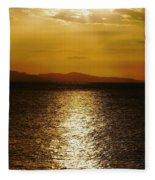 Follow The Gold Fleece Blanket