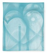 Follow Your Heart Fleece Blanket