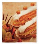 Food - Cake - Little Cakes Fleece Blanket
