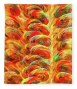 Food - Candy - Lollipops Fleece Blanket