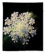 Fools Parsley  Fleece Blanket