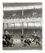 Football Game, 1916 Fleece Blanket