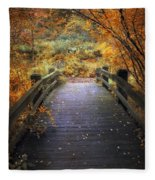 Footbridge Canopy Fleece Blanket