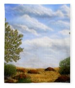 Foothills Afternoon Fleece Blanket