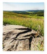 Foothills View Fleece Blanket