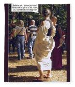 For Adults Fleece Blanket