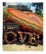 For The Love Of Succulents Fleece Blanket