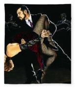 For The Love Of Tango Fleece Blanket