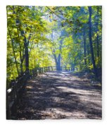 Forbidden Drive - Philadelphia Fleece Blanket
