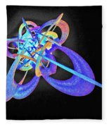 Force Fields Fleece Blanket