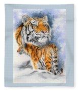 Forceful Fleece Blanket
