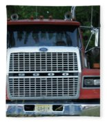 Ford 9000 Power And Confort... Fleece Blanket