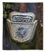 Ford Emblem Fleece Blanket