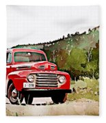 Ford F-1 Fleece Blanket