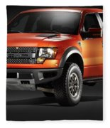 Ford F150 Svt Raptor Fleece Blanket