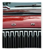 Ford Falcon Details Fleece Blanket