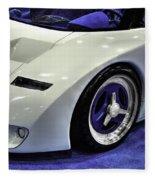 Ford G T90 V2 Fleece Blanket