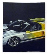 Ford Gt Concept Fleece Blanket