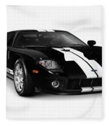 Ford Gt Supercar Fleece Blanket