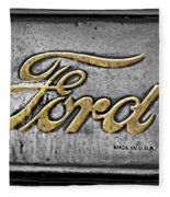 Ford Made In The Usa Fleece Blanket