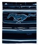 Ford Mustang Grille Fleece Blanket