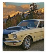 Ford Mustang Fleece Blanket