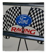 Ford Racing Emblem Fleece Blanket
