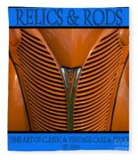 Ford 14 - Relics And Rods Fleece Blanket