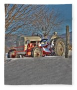 Ford Tractor Fleece Blanket