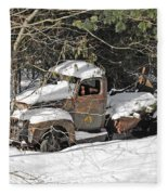 Ford Truck Fleece Blanket