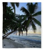 Forest Beach 2 Fleece Blanket