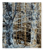 Forest Calm Fleece Blanket