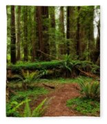 Forest Court Fleece Blanket