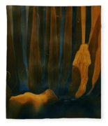 Forest Dreams Fleece Blanket