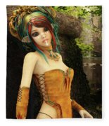 Forest Fairy Fleece Blanket
