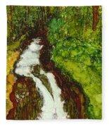 Forest Fall Fleece Blanket