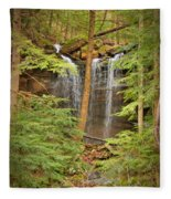 Forest Falls Fleece Blanket