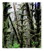 Forest Finery Fleece Blanket