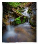 Forest Flow Fleece Blanket