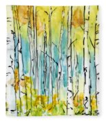 Forest For The Trees Fleece Blanket